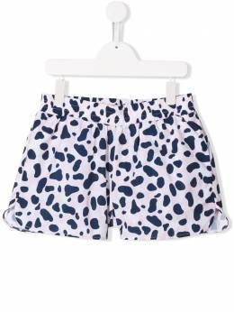 Stella McCartney Kids шорты для плавания с принтом 540941SMK95
