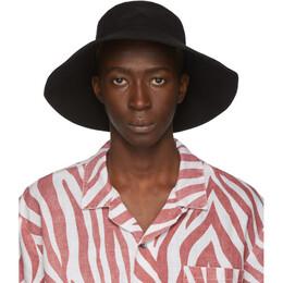 Double Rainbouu Black Canvas Bucket Hat TBC