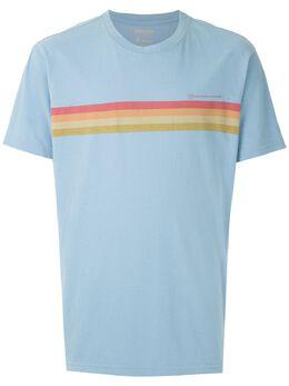 Osklen футболка Sun в полоску 60278