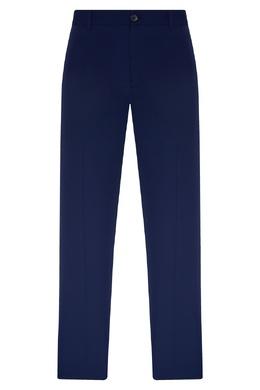 Укороченные синие брюки со стрелками Balenciaga 397168665