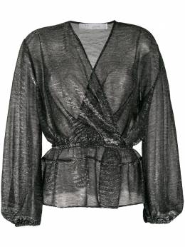 Iro полупрозрачная блузка Maryle с запахом WP16MARYLE
