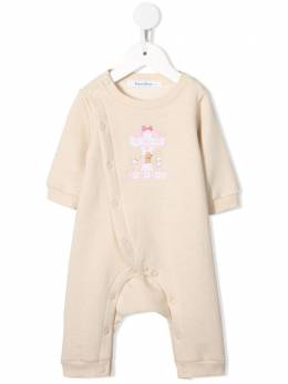 Familiar embroidered romper suit 126502