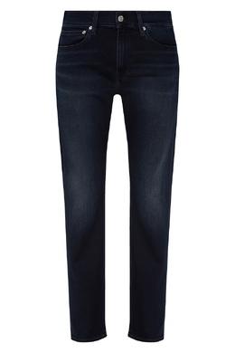 Темно-синие джинсы из хлопка Calvin Klein 596169026