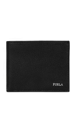 Черный кожаный кошелек Marte Furla 1962169777