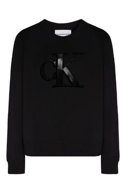 Свитшот с крупным логотипом Calvin Klein 596169246