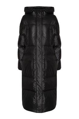 Черный пуховик с накладными карманами Calvin Klein 596169263