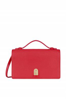 Красная кожаная сумка Incanto Furla 1962169659