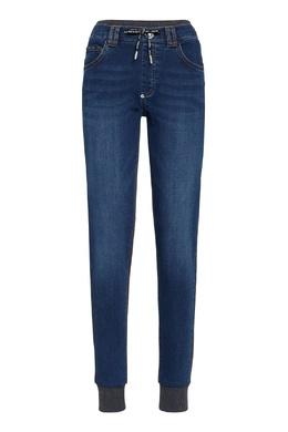Комбинированные брюки в свободном стиле Philipp Plein 1795169224