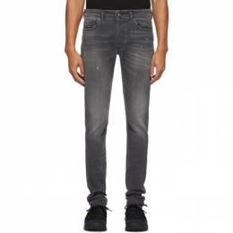 Diesel Black Sleenker-X Jeans 00SWJF 069JR