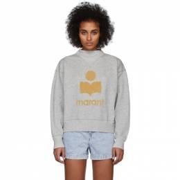 Isabel Marant Etoile Grey Moby Inactif Sweatshirt 20PSW0033-20P035E