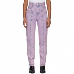 Isabel Marant Etoile Pink Henoya Jeans 20PPA1517-20P017E