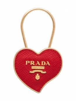 Prada брелок в форме сердца с логотипом 1PP047053