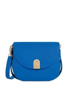 Ярко-синяя сумка с клапаном Sleek Furla 1962169743