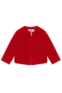 Красный жакет на молнии Il Gufo 1205170311