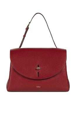 Темно-красная сумка с клапаном Net Furla 1962169805