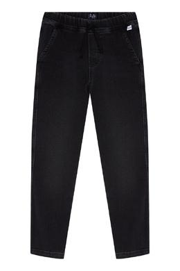 Черные джинсы с эластичным поясом Il Gufo 1205170213