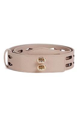 Широкий пудрово-розовый ремень Net Furla 1962169914