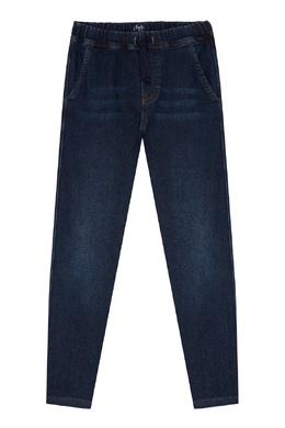 Синие джинсы спортивного кроя Il Gufo 1205170226