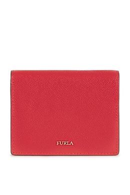 Складной кошелек красного цвета Babylon Furla 1962169822