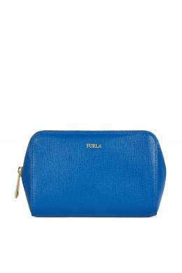 Косметичка ярко-синего цвета Electra Furla 1962169851