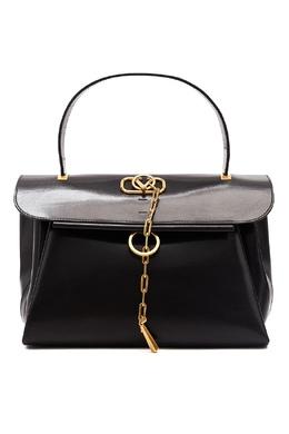 Черная сумка V-Chain Valentino Garavani 210166605