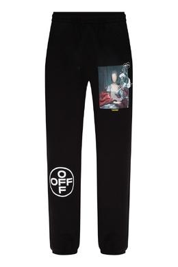 Черные трикотажные брюки Off-White 2202166666