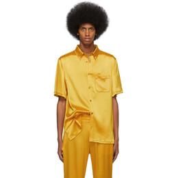 Sies Marjan Yellow Satin Rooney Shirt M7KS324-SE40180