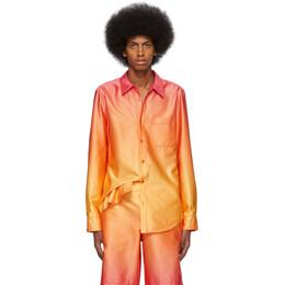 Sies Marjan Yellow and Orange Degrade Sander Shirt M7DG301-F0D943