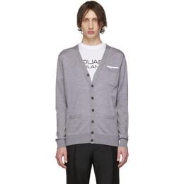 Dsquared2 Grey Pocket Cardigan S74HA1018 S16794
