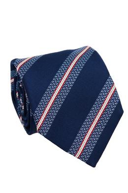 Шелковый галстук в полоску Canali 179387035