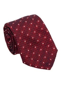 Красный шелковый галстук с отделкой Canali 179387043