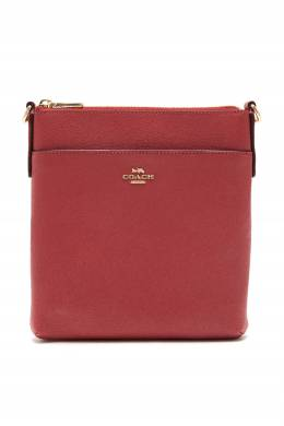 Розовая сумка Messenger Coach 2219172840