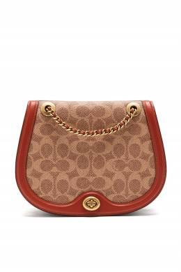 Комбинированная сумка Parker Saddle Bag Coach 2219172754