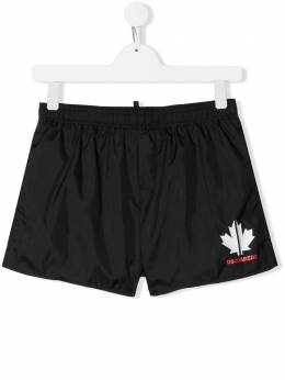 Dsquared2 Kids плавки-шорты с логотипом DQ0435TD00QK