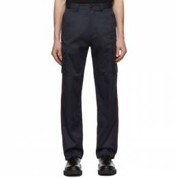 Vetements Black Police Cargo Pants SS20PA112