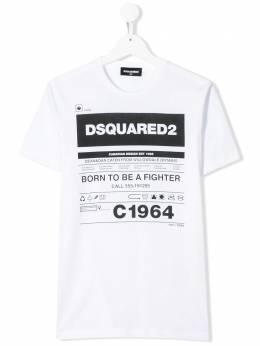 Dsquared2 Kids футболка с принтом DQ044JD00YR