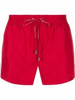 Dolce&Gabbana короткие плавки-шорты с логотипом M4A67TFUSFW