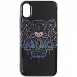 Kenzo Black Limited Edition Holiday Tiger iPhone XS Max Case F96COKXIMTXM