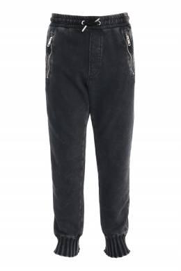 Черные брюки с манжетами Diesel 1352173253