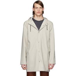 Stutterheim Off-White Stockholm Lightweight Raincoat 1831