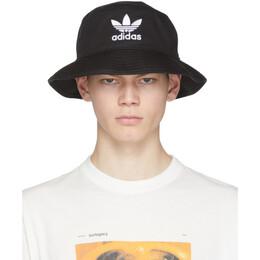 Adidas Originals Black Adicolor Bucket Hat BK7345