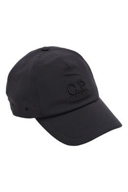 Черная бейсболка с вышивкой C.P. Company 1929174961