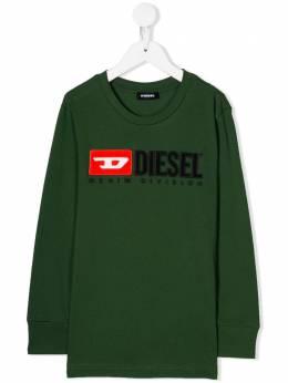 Diesel Kids свитер с логотипом 00J4KF00YI9