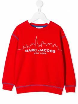 Little Marc Jacobs толстовка с принтом W25386