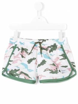Dondup Kids шорты с камуфляжным принтом DMSW020097
