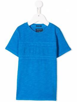 Woolrich Kids футболка с логотипом WKTEE1263
