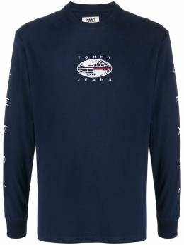 Tommy Jeans футболка с логотипом DM0DM07437