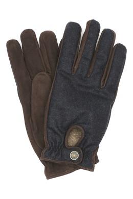 Перчатки из шерсти и замши Lardini 2453175095