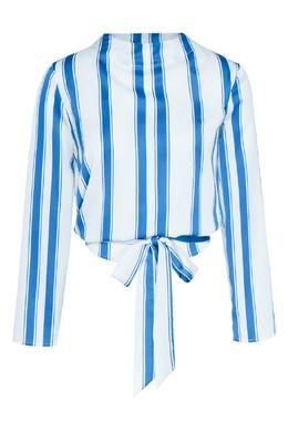 Рубашка в полоску One Teaspoon 1092175620
