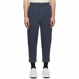 Ami Alexandre Mattiussi Indigo Carrot Trousers P20HT617.248